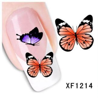 Waterdecals Vlinders