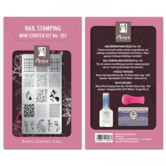 Moyra Mini Stamping Starter Kit