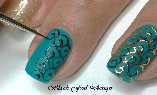 Black Foil Design